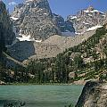 1m9387-v-grand Teton And Delta Lake - V by Ed  Cooper Photography