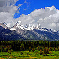Grand Teton Mountains by Bruce Nutting