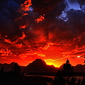 Grand Teton Sunset by Aidan Moran