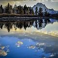 Grand Teton Sunset by RiverNorth Photography