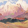 Grand Tetons by Franz A Bischoff