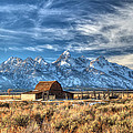 Grand Tetons Iconic Landscape In Hdr by Pierre Leclerc Photography