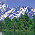 Grand Tetons National Park Wy by Panoramic Images