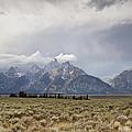 Grand Thunder - Grand Teton National Park - Wyoming by Diane Mintle