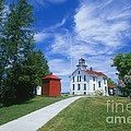 Grand Traverse Lighthouse by David Davis