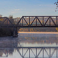 Grand Trunk Railroad Bridge by Donna Lee