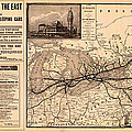 Grand Trunk Railway Map 1887 by Mountain Dreams