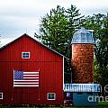 Grandfathers Barn by Michael Arend