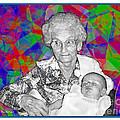 Grandma And Rose by Joan  Minchak