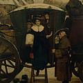 Grandmamas Christmas Visitors by George Adolphus Storey