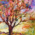 Impressionism Grandmas Apple Tree by Ginette Callaway