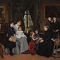 Grandmas Birthday by Louis Edmond Pomey