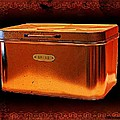 Grandma's Kitchen- Copper Breadbox by Ellen Cannon