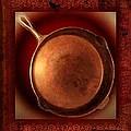 Grandma's Kitchen- Copper Skillet by Ellen Cannon