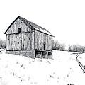 Grandpa's Barn by Van Bunch