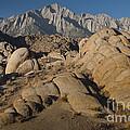 Granite Rock Formations, Alabama Hills by John Shaw
