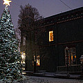 Grants Pass Town Center Christmas Tree by Mick Anderson