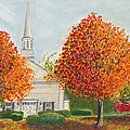 Granville Church by Cindy  Hierl