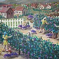 Grape Harvest by Ronald Barnes