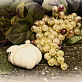 Grapes And Garlic by Bill Cannon