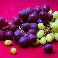 Grapes White And Red by Alexander Senin