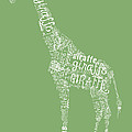 Graphic Giraffe by Heather Applegate