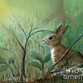 Grass Rabbit by Terry Lewey