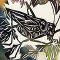Grasshopper Papercut by Alfred Ng