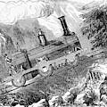 Grassi Locomotive, 1857 by Granger