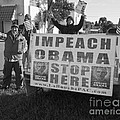 Grassroots Impeach Obama Movement by Allan  Hughes