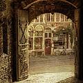 Gravensteen Doorway by Joan Carroll
