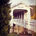 Grave Creek Covered Bridge by Mick Anderson