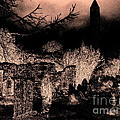 Graveyard At Night by Tim Townsend