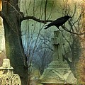 Graveyard Cross by Gothicrow Images