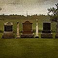Graveyard Landscape Photograph by Laura Carter