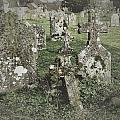 Graveyard Monuments And Gravestones by John Colley