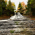 Laughing Whitefish Falls by Michael Tucker
