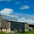 Gray Barn by Bill Gallagher