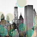Gray City Beams by Susan Bryant