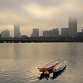 Gray Day On The Charles River by Ken Stampfer