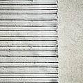 Gray Line Concrete Wal by Jozef Jankola