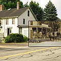 Gray's Store In Adamsville Rhode Island by Jeff Hayden