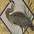 Great Blue Heron by Brenda Salamone