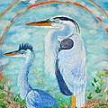 Great Blue Herons Seek Freedom by Ashleigh Dyan Bayer