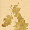 Great Britain Map by Chris Smith