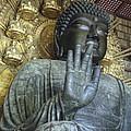 Great Buddha Of Nara Japan by Daniel Hagerman
