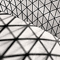 Great Court Abstract by Rona Black