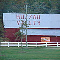 Great Fall View Of Huzzah Barn by Holly  Cottrell