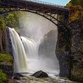 Great Falls Mist by Susan Candelario