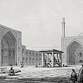 Great Friday Mosque In Isfahan by Pascal Xavier Coste